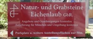 Grabgestaltung München Eichenlaub Foto3