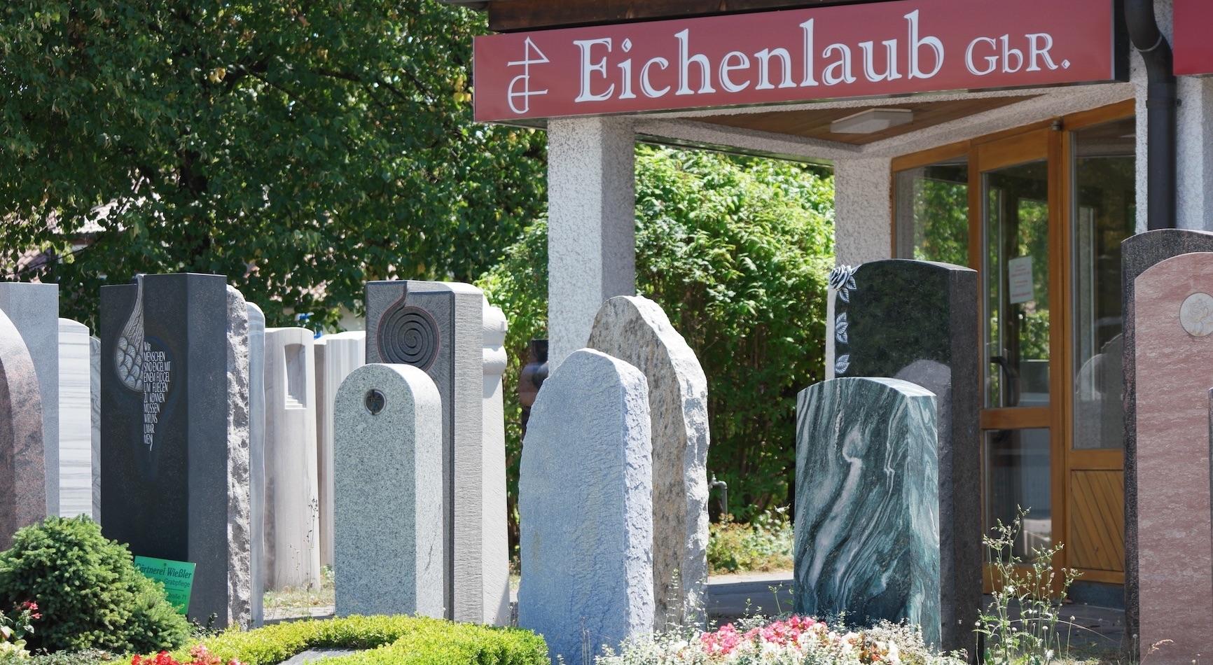 Grabsteine München Eichenlaub Home